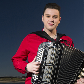 Scottish accordion champion Brandon McPhee and his 5 piece band.