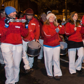 Edinburgh Samba Drumming - Hogmanay 2019