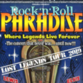 NEW DATE: Saturday 10 April 7.30pm 2021Rock n Roll Paradise returns to the UK theatres in 2020 celebrating our 11th year on the road.