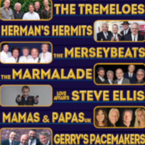 Thursday 5 November 2.30pm & 7.30pmSixties Gold - The Ultimate Line Up