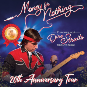 NEW DATE: Thursday 22 April 7.30pm 2021Undoubtedly the BEST Dire Straits Tribute Band in Europe