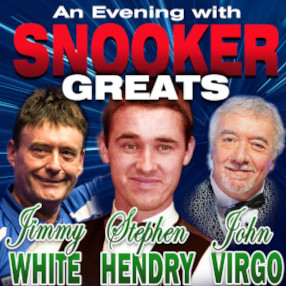 "Friday 1 October 7.30pm 2021 Seven times World Snooker Champion, Stephen Hendry takes on his arch rival Jimmy ""The Whirlwind"" White, with host and referee John Virgo."